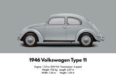 1946 VW Volkswagen Type 11