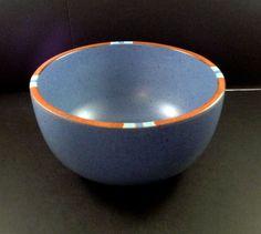"""Dansk Bowl Mesa Sky Blue Fruit Cereal Soup 6 1/4"""" Round #Dansk"""