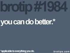 make your better best.