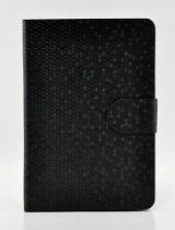 Tenmile offer LiViTech(TM) Honeycomb Diamond Glitter Series Wallet ID Holder PU Leather Smart Cover Case For Apple iPad Mini (Black). This awesome product currently limited units, you can buy it now for  $12.99, You save - New