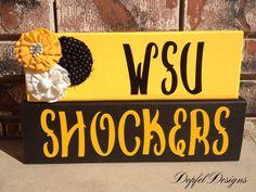 Wichita State University (WSU) Shockers on Etsy, $25.00