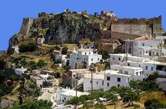 Kithira Greece - laid back island - kithira castle view
