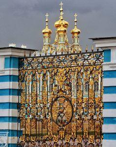 Екатерининский дворец. Церковь Воскресения Христова.    Автор: Alexsandrkonovodov.