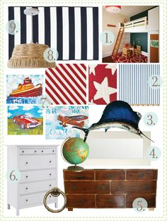 Love this for a boy's bedroom!