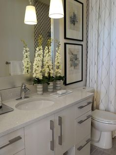 HGTV Green Home 2011: Hall Bathroom Pictures | HGTV Green Home 2011 | HGTV
