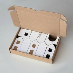 Cardboard Houses. Designed by Michaela Horáčková                                                                                                                                                     More                                                                                                                                                                                 More