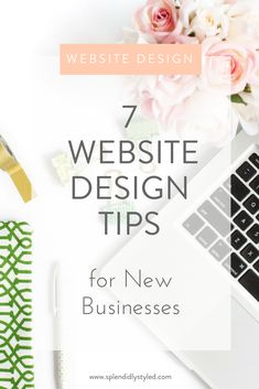Website design tips and tricks for new businesses