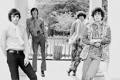 Pink Floyd photo session, Ruskin Park, London, 1967.