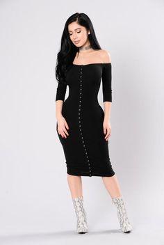 Puppy Love Dress - Black