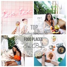 Top Instagrammable Food Places in Bali