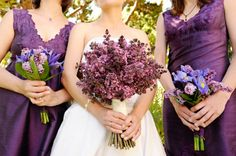 lilac in bouquets and centerpieces