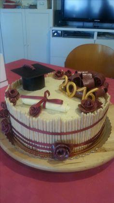 torta laurea in lingue