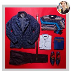 Staff Picks: Fall Transitional Outerwear | Featuring Ted Baker Quilted Jacket with Inner Storm Lining $415 | GOTSTYLE.CA