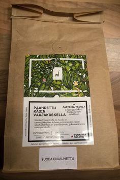 Jyväskylässä toimii kaksi pientä kahvipaahtimoa: Punainen kirahvi Vaajakoskella ja Paahtimo Papu keskustassa Yliopistonkadulla. Molempien paahtimoiden tuotteita on saatavilla ainakin isommista mark…
