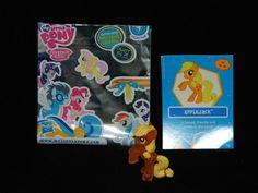 My Little Pony G4 FiM Apple Jack #6 Crystal Shine Blind Bag w/Card & Bag [1k] #Hasbro