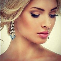 Wedding makeup for blondes make up lip colors 41 best Ideas Prom Makeup, Wedding Hair And Makeup, Eye Makeup, Hair Makeup, Blonde Makeup, Makeup Contouring, Bridal Makeup For Blondes, Blonde Eyebrows, Bridesmaid Makeup