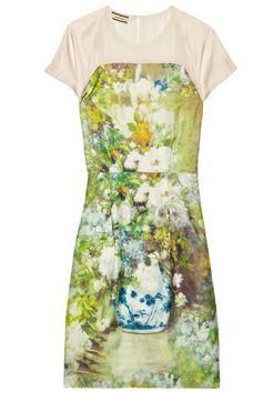 By Malene Birger Floral-print silk-twill dress Malene Birger, Body Shapes, Fashion Advice, Sustainable Fashion, Spring Summer Fashion, Floral Prints, Floral Patterns, Editorial Fashion, What To Wear