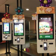 self order kiosk Floor standing 24 inch self-service payment kiosk touch screen self order kiosk for restaurant