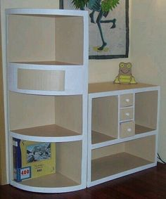 26 DIY Cardboard Furniture Ideas That Are Surprisingly Practical 47 Inexpensive Diy Pallet Project Furniture Design Ideas Best Industrial Pipe Furniture Designs for A Cool and Chic Home Decor Diy Cardboard Furniture, Cardboard Storage, Cardboard Box Crafts, Ikea Furniture, Repurposed Furniture, Diy Storage, Rustic Furniture, Furniture Makeover, Cool Furniture