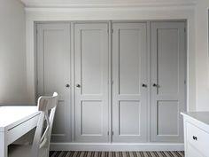 Diy Built In Wardrobes, Cornforth White, Door Images, Armoire, Tall Cabinet Storage, Bedroom, Interior, Furniture, Doors