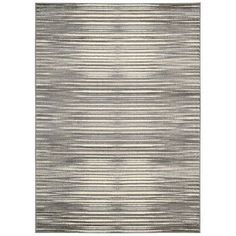 "Wade Logan Stanwyck Ivory/Gray Area Rug Rug Size: Runner 2'2"" x 7'3"""