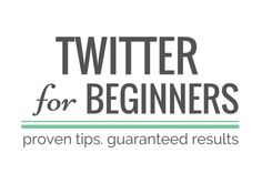 Immediate results GUARANTEED! How to use Twitter for beginners: increase followers, sales, traffic, impressions & mentions! 100% free. Easy to follow steps.