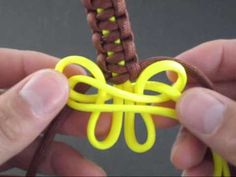How to Make the Butterflied Solomon Bar (Bracelet) by TIAT