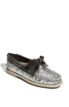 Sperry Top-Sider® 'Authentic Original Glitter' Boat Shoe. $89.95. Perfect way to jazz up an outfit