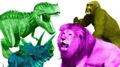 Dinosaurs Cartoons For Children | Gorilla Vs Dinosaur Fight | Pig Cartoons | Dinosaurs For Kids https://youtu.be/Ea2klCiIUU0