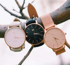 Cute watches! Love the Boyfriend watch look