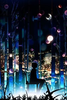 Diy Rhinestone Mosaic Embroidery Art Kit Beads Cross Stitch Cartoon Picture Home Decor Gift Full Squ Anime Galaxy, Scenery Wallpaper, Anime City, Anime Kunst, Anime Scenery, Cool Backgrounds, Embroidery Art, Pretty Art, Amazing Art