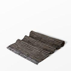 Matta Piano, 70x200 cm, svart