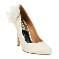 Badgley Mischka Ciri Chiffon Covered Pump