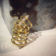 Theia Collection- Stack Ring 18K Gold vermeil www.camillejewelry.com