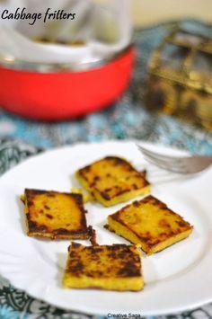 Cabbage vadi - kobichi vadi - cabbage fritters- easy snack recipes