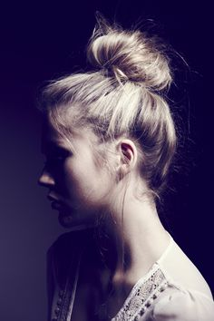 I just dig buns. Unfortunately, I think they look best on blondes