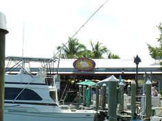 One of the many Key West restaurants at Key West Seaport and Harbor Walk