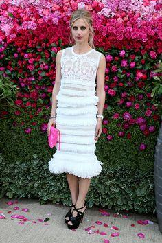 Tendencias 2013 vestidos blanco para el verano - Laura Bailey