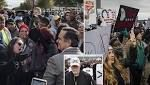 Protesters play Mexican folk song 'La Bamba' to drown out neo-Nazi speech at 'White Lives Matter' rally in Tennessee ...