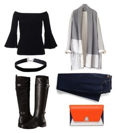 """""""winter outfit"""" by alaysecab on Polyvore featuring Aerosoles, Lands' End, Miss Selfridge, Akris, Winter and fav"""
