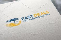 Fast Deals | Logo Template by REDVY on @creativemarket