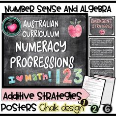 Numeracy Progressions - Teaching for the love of it. Grade 1, Second Grade, Fourth Grade, Visible Learning, Math Activities, Math Worksheets, Learning Support, Learning Goals, Australian Curriculum