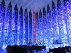 Igreja Dom Bosco, Brasilia, Brasil