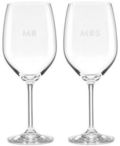 kate spade new york Darling Point Collection 2-Pc. Wine Glasses Set - Kate Spade - For The Home - Macy's