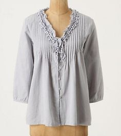 Anthropologie By Edme & Esyllte Magdalena Peasant Top