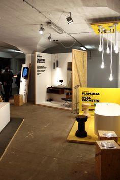 Prezentace společnosti AQUA TRADE, která je výhradním dodavatel italských značek, se nesla v industriálním duchu místa výstavy - Nákladového nádraží Žižkov. Design: Boris Klimek & Jan Štefl