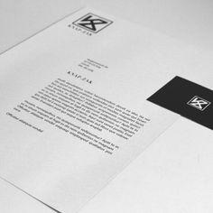 Poster en visitekaartje voor het nieuwe tassen merk Knap-Zak