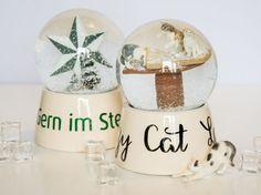 Tutorial: Schneekugeln basteln   Miss Lumberjack Snowglobe Snow Globes, Decor, Gifts, Decoration, Decorating, Deco