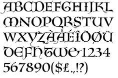 lombardic capitals calligraphy - Google meklēšana