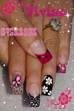 Colored nail tips, cool nail art, crazy nail art, crazy nails, spring Fabulous Nails, Gorgeous Nails, Pretty Nails, Crazy Nail Art, Crazy Nails, Nail Manicure, Toe Nails, Colored Nail Tips, Finger Nail Art